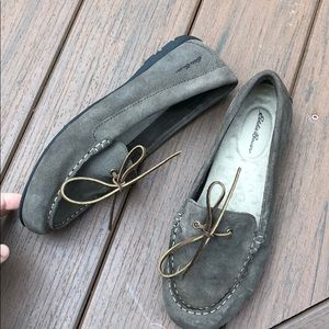 Shoes - EDDIE BAUER Womens Suede Loafers